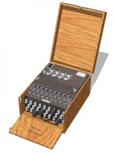 Rotor-Schlüsselmaschine