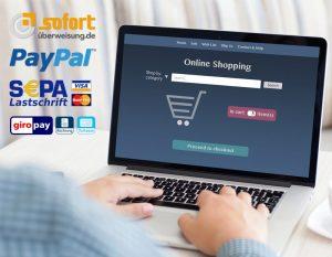 Online Shops sichere Zahlmittel