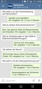 Telegram Sicherheit