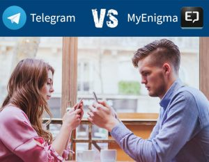 Telegram vs. MyEnigma