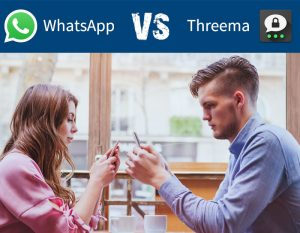 WhatsApp vs. Threema