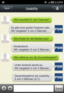 WeChat Usability