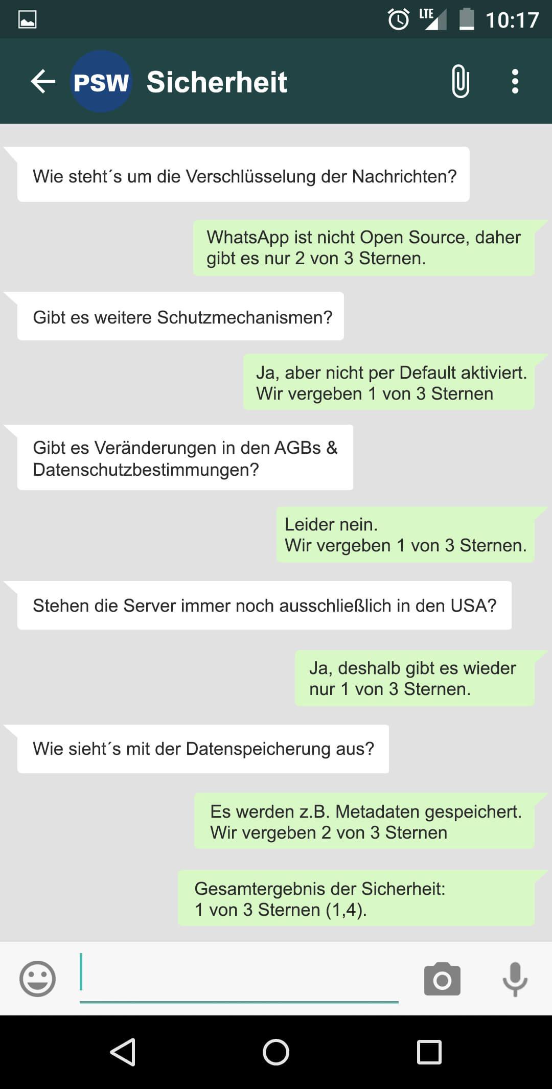 Zu whatsapp fragen Fragen zu