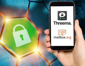 Platz 1: Threema & mailbox.org