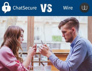 ChatSecure vs Wire