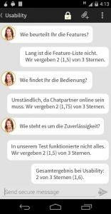 ChatSecure Usability