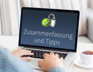 Browser Sicherheit Zusammenfassung