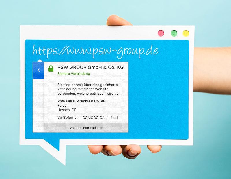 SSL-Verschlüsselung für Websites: (ver-)sichern Sie! - PSW GROUP Blog