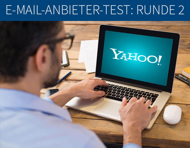 E-Mail-Anbieter-Test: Die PSW GROUP testet Yahoo Mail