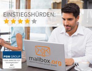 Einstiegshürden - mailbox.org
