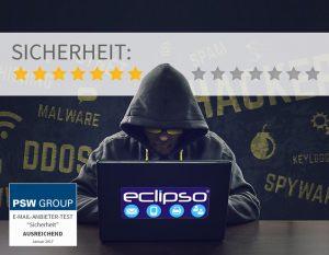 Sicherheit bei Eclipso 7 von 14 Punkten
