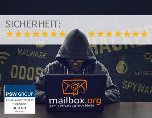 Sicherheit - mailbox.org