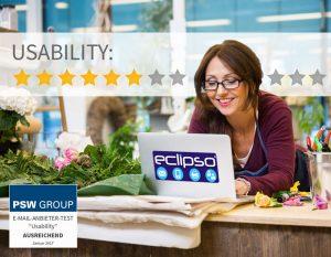 Usability bei Eclipso 6 von 11 Punkten