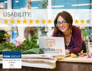 Usability - mailbox.org