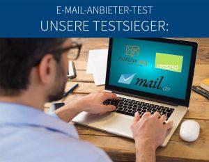 E-Mail-Anbieter-Test Auswertung