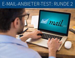 E-Mail-Anbieter-Test Mail.de