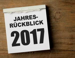 2017: Jahresrückblick