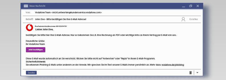 Vodafone Phishing
