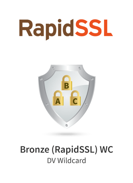 GeoTrust Bronze (RapidSSL) Wildcard