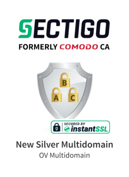 Sectigo New Silver Multidomain