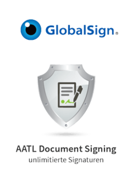 GlobalSign AATL Document Signing