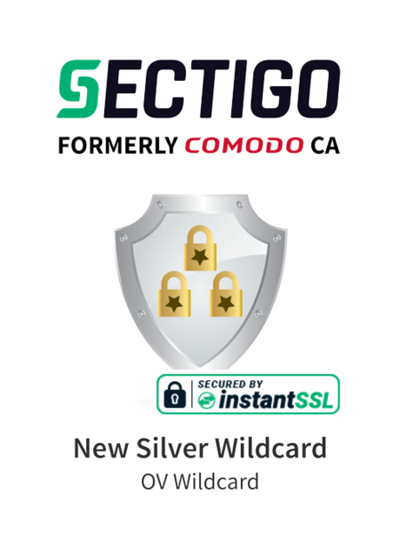 Sectigo New Silver Wildcard