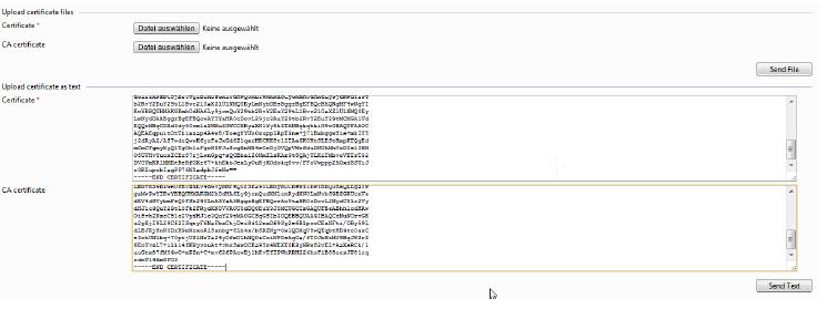 Sie können dies wahlweise durch den Upload der Dateien machen  oder durch die Kopie der Inhalte in die Textfelder.