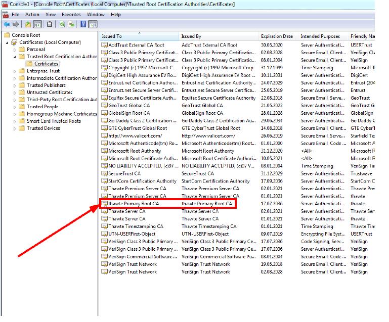 Doppeltes Zertifikat Thawte: FAQ SSL-Zertifikate - SSL-Wiki - PSW GROUP