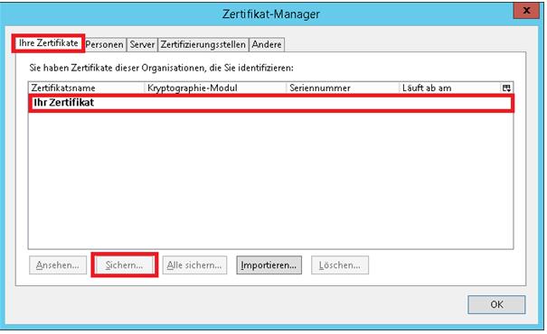 Wie installiere ich ein S/MIME Zertifikat in Outlook?