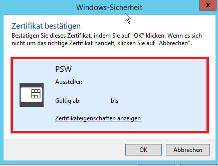 Windows Sicherheit